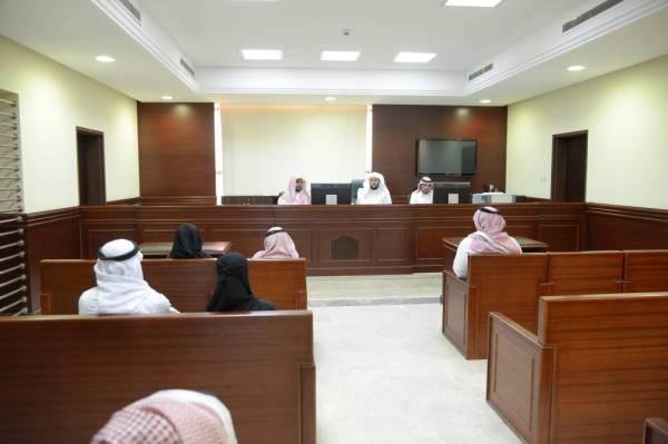 جلسة قضائية عامة.
