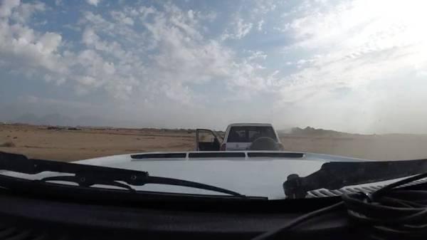 القبض على شخص هدد متسابقاً في «رالي العلا - نيوم» بسلاح ناري