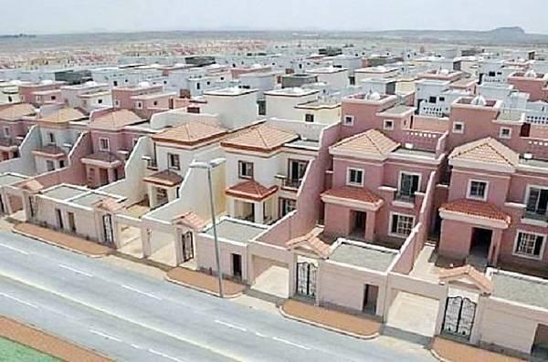 أحد مشاريع الإسكان في الدمام.
