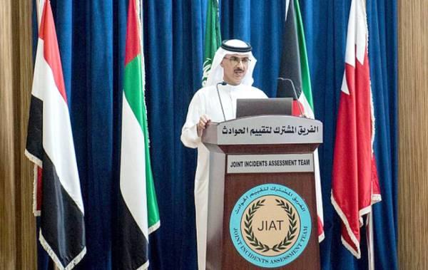 المنصور خلال المؤتمر الصحفي.