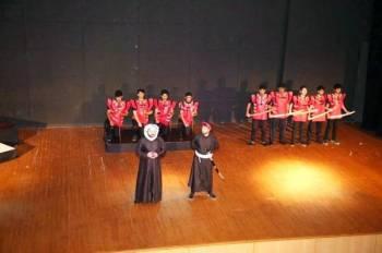 الدورات تدعم المسرح الجامعي وتطويره.