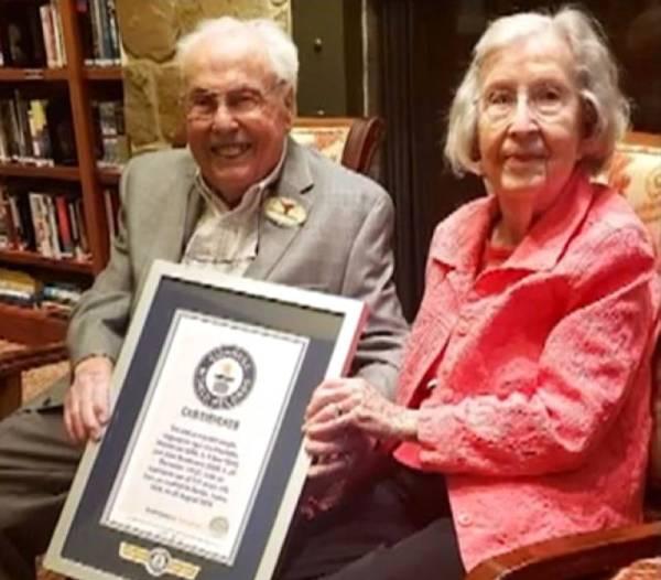 أمريكيان.. الثنائي الأكبر سناً في العالم