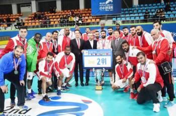 فريق الوحدة لكرة اليد يحصد المركز الثاني في البطولة الآسيوية بكوريا الجنوبية.
