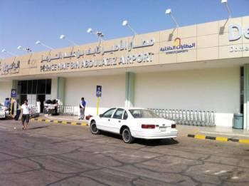 مطار الأمير نايف بن عبدالعزيز الدولي في بريدة. (عكاظ)