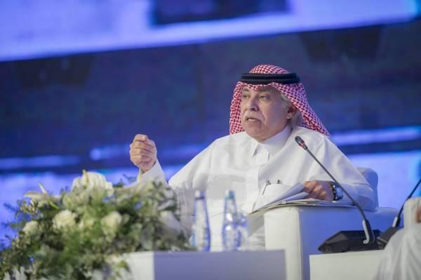 القصبي متحدثا في منتدى الإعلام السعودي