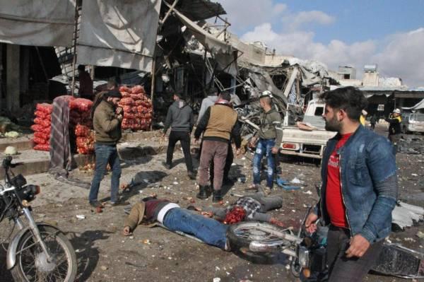 11 قتيلاً بقصف تركي على شمال سورية