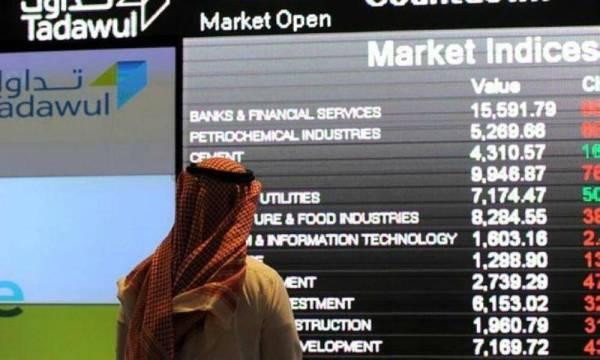 مؤشر سوق الأسهم السعودية يغلق مرتفعاً عند مستوى 7883.03 نقطة