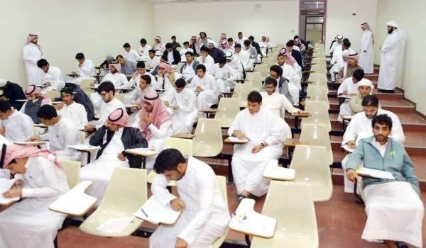75 ألف طالب وطالبة يؤدون اختبارات الفصل الدراسي الأول بجامعة طيبة.
