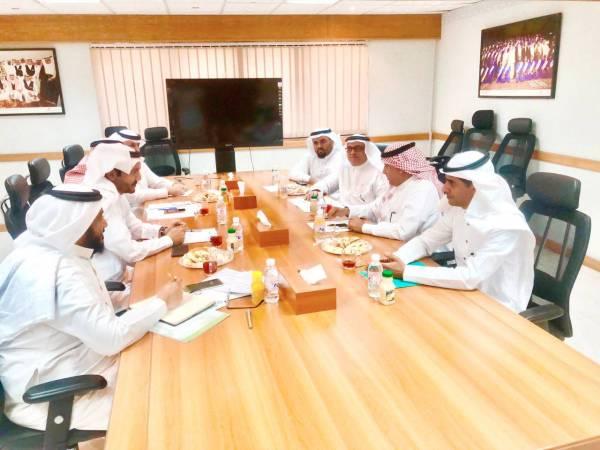 المشاركون في الاجتماع