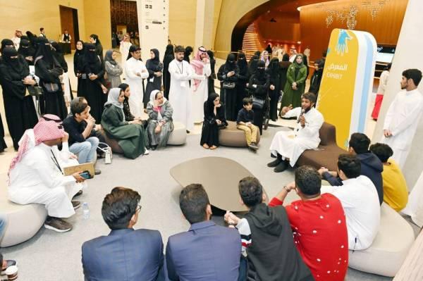 المشاركون في معرض إثراء.