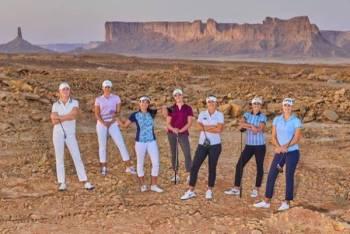 فريق سيدات أوروبا للجولف.