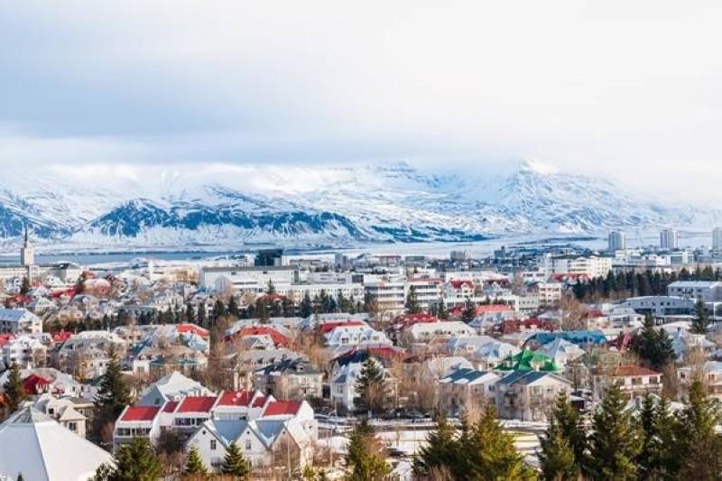 ريكيافيك في أيسلندا