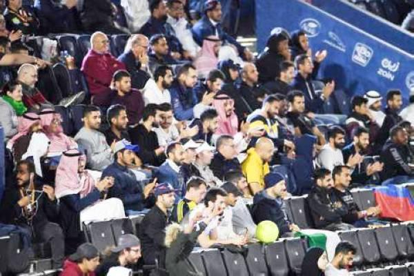 حظيت البطولة بحضور جماهيري في ميدان الدرعية.