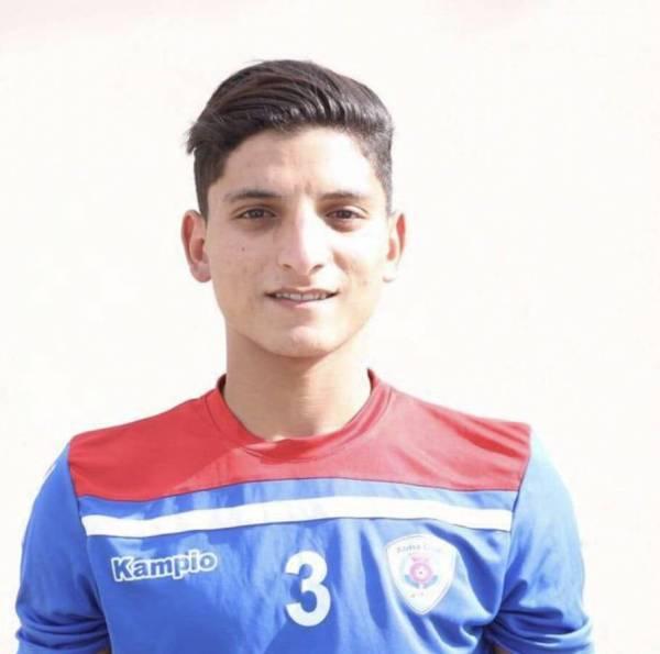اللاعب أحمد مصطفى