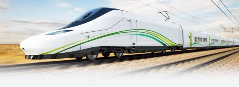 قطار الحرمين السريع يعد أسرع وسيلة نقل على مستوى الشرق الأوسط.