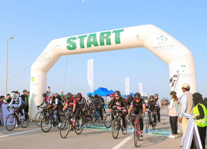 «الرياضة للجميع» يختتم سباق الدراجات الهوائية للسيدات - أخبار السعودية   صحيفة عكاظ