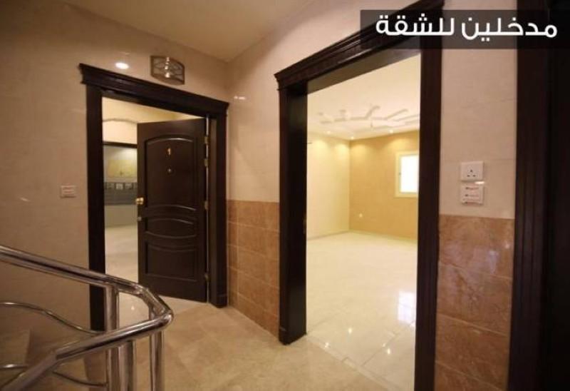 مدخلان للشقة