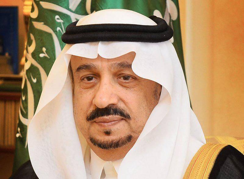 أمير منطقة الرياض الأمير فيصل بن بندر بن عبدالعزيز.