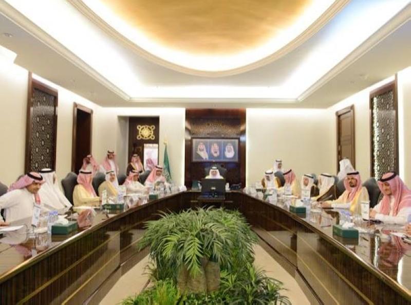 اجتماع الأمير خالد الفيصل بالأمناء