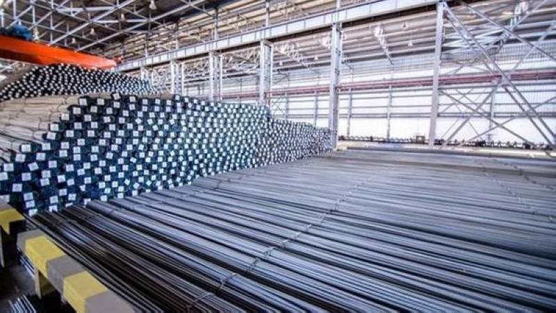 أسعار طن الحديد ارتفعت 15%
