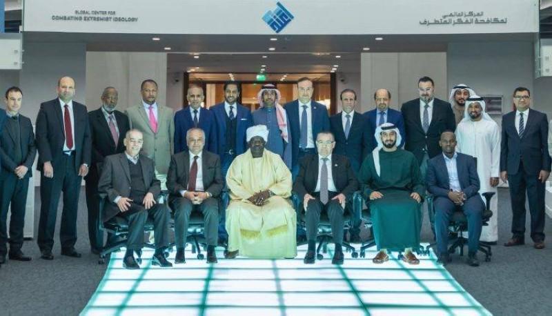 وفد ضم عدداً من السفراء والدبلوماسيين من بعثات دول.