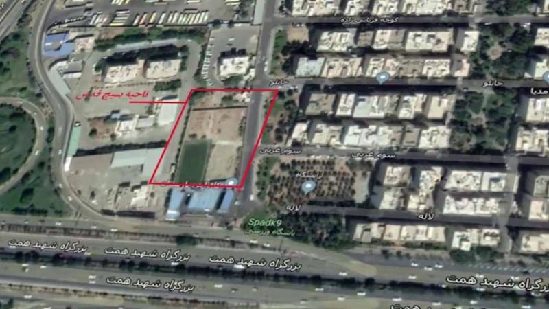 """قيادة """"جنت آباد"""" بالعاصمة طهران"""