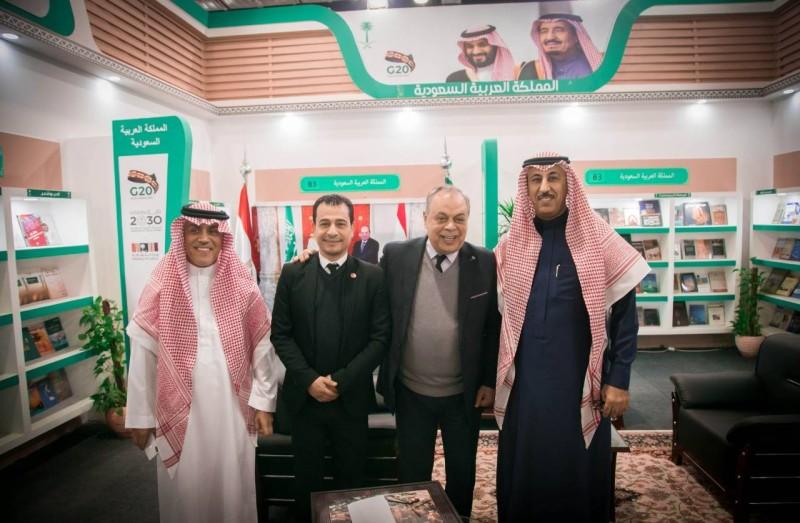 أشرف زكي: جناح المملكة يعكس العمق التاريخي للعلاقات السعودية ـ المصرية