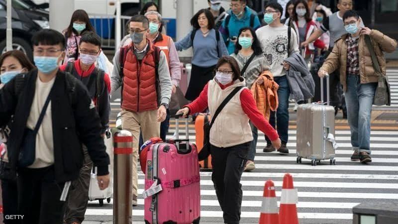 إجراءات مشددة في العديد من المطارات بسبب فيروس كورونا.
