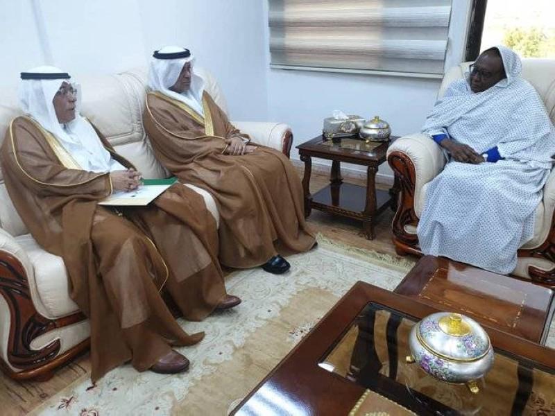 وزيرة الخارجية السودانية تستقبل السفيرين السعودي والإماراتي. (عكاظ)