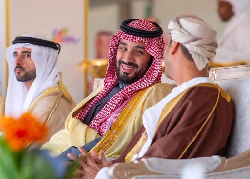 .. وفي حديث مع وزير الشؤون الرياضية لسلطنة عمان.