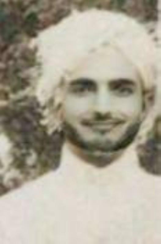 الأديب الرحالة محمد بن عبدالحميد مرداد خلال إحدى سفراته.