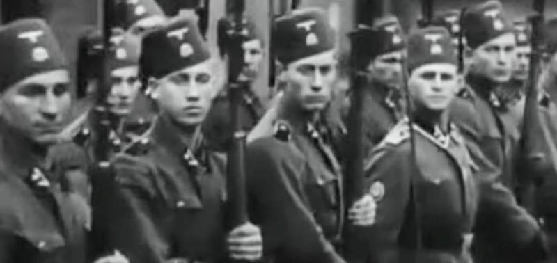 جنود من قوات الفيلق الإخواني النازي.