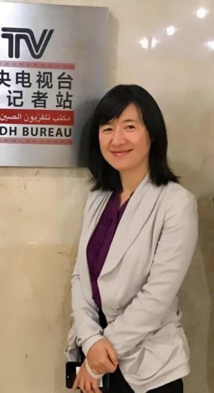 «مو لي» مديرة تلفزيون الصين المركزي في  الشرق الأوسط