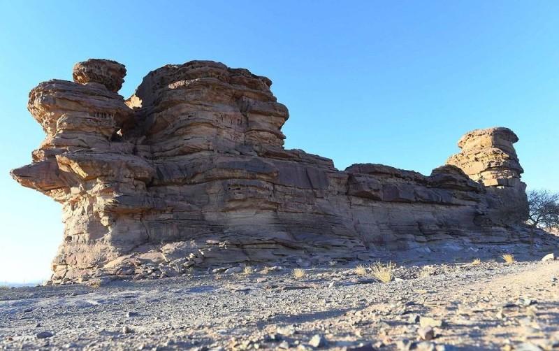 جبل السفينـة. تصوير: فهد العساف (واس)