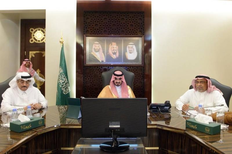 بدر بن سلطان مترئسا الاجتماع الثالث للجنة التنفيذية للإسكان التنموي