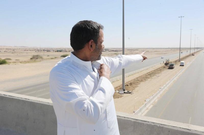 حامد الشيخي متحدثا عن طريق الساحل (الليث - جدة).