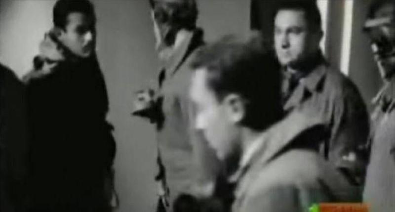 مبارك في فيلم وداع في الفجر.