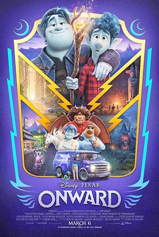 بوستر فيلم ONWARD.