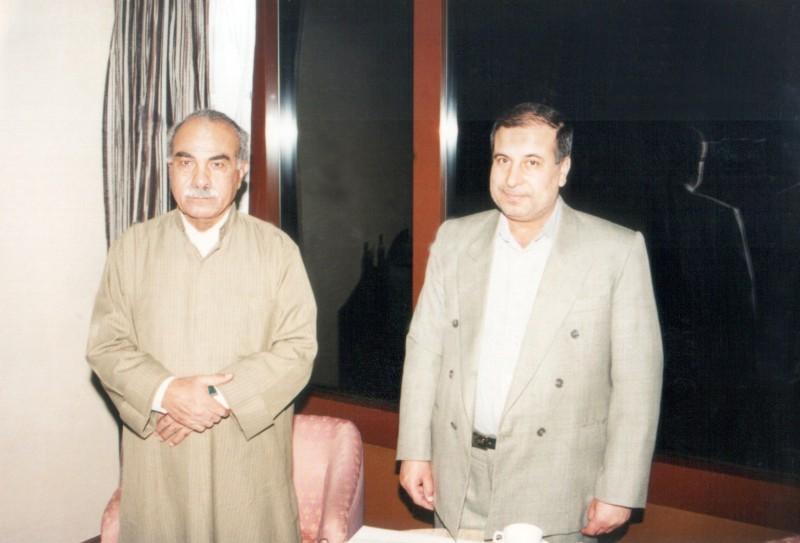 عبدالجبار الرفاعي ومحمد عمارةعام 1998