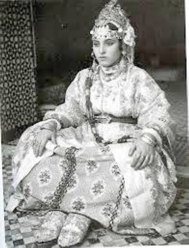 الزي التقليدي المغربي