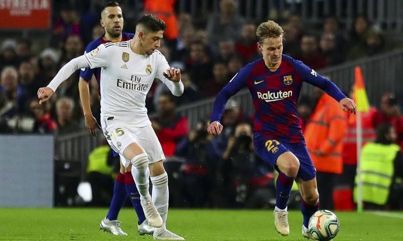 مواجهة سابقة بين برشلونة وريال مدريد
