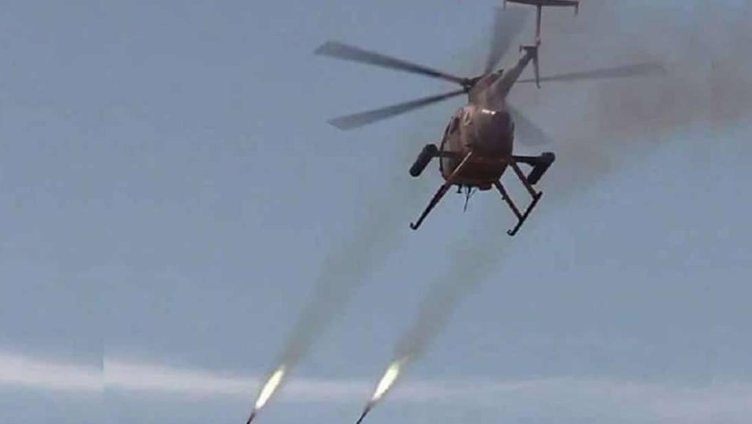 غارة من الجيش الأفغاني على عناصر طالبان.
