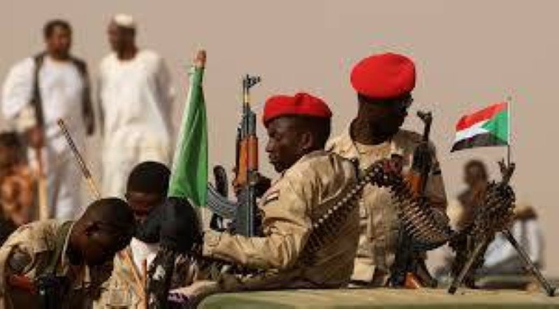 جنود سودانيون في إطار الحملة الأمنية