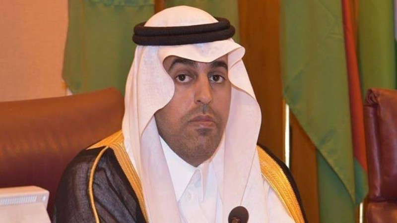 مشعل بن فهم السُّلمي رئيس البرلمان العربي.
