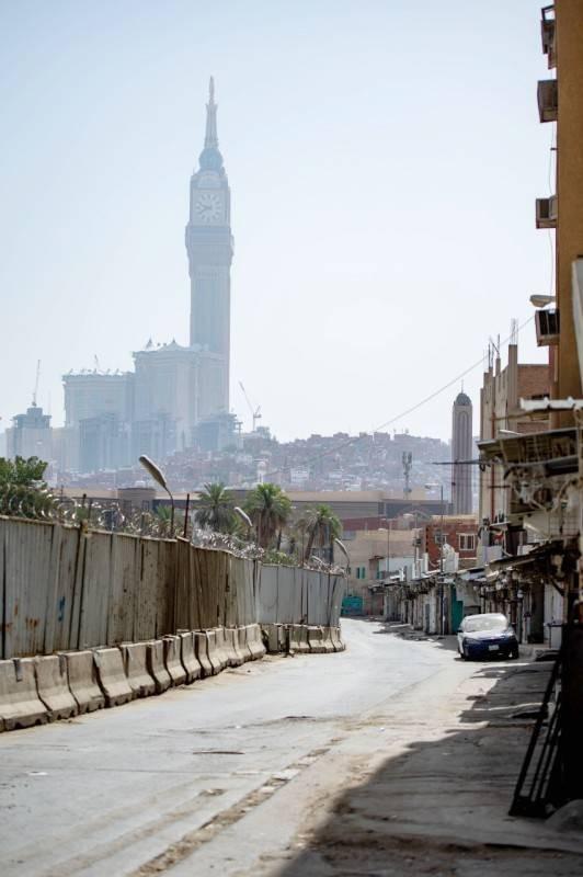 تشويه للجمال العمراني في العاصمة المقدسة.