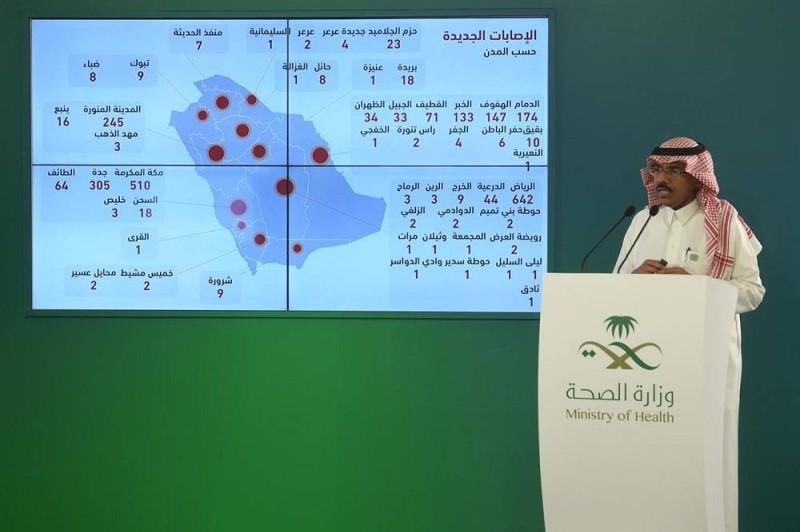 الصحة 2593 إصابة جديدة بـ كورونا و3026 حالة تعاف إضافية أخبار السعودية صحيفة عكاظ