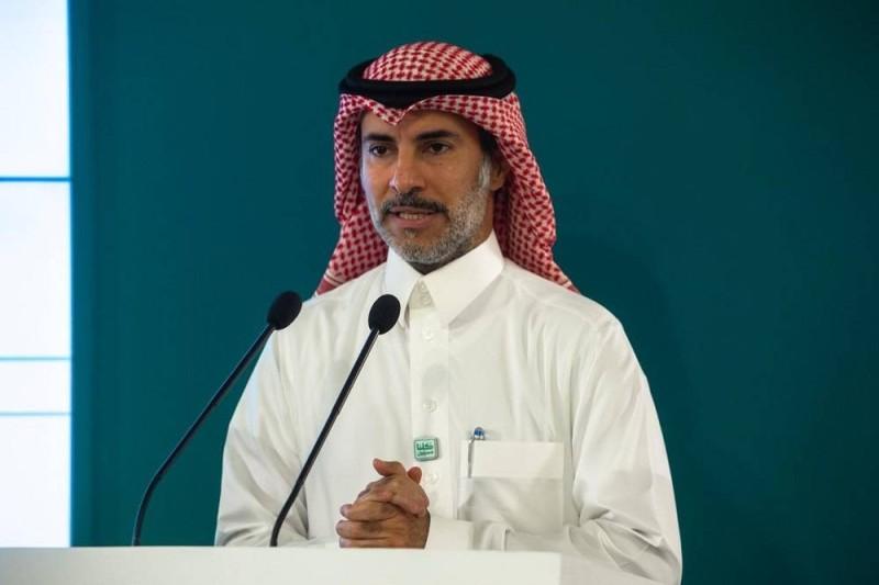 الحسين متحدثا في المؤتمر الصحفي