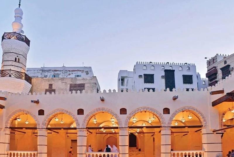 أحد المساجد التاريخية في جدة