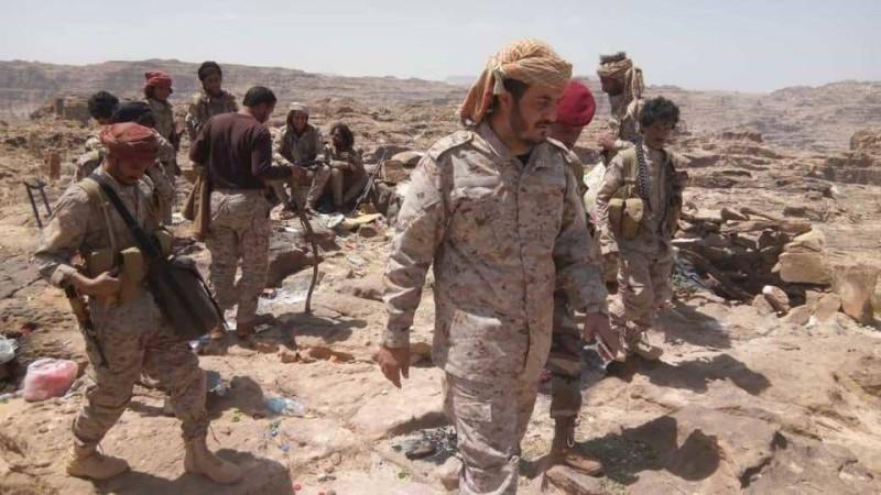 أفراد من قوات الجيش اليمني.