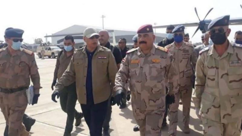 الكاظمي يطلق عملية أمنية لملاحقة فلول «داعش» في كركوك أمس.
